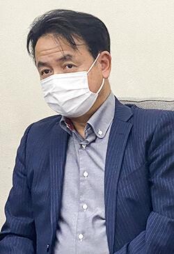 プロジェクトオーナーの吉田常務
